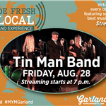 Virtual Concert with Tin Man Band on Aug 28